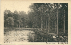Waterlelievijver Groenendaal. circa 1920