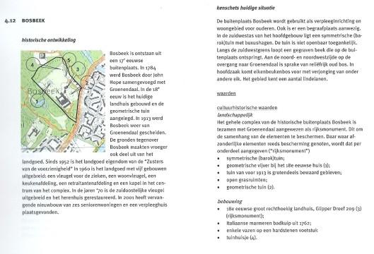 Bosbeek. Rapport SAB (1)