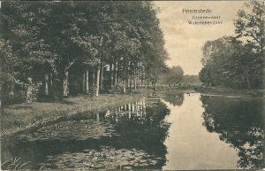 Waterlelievijver Groenenendaal. 2 mei 1917 schreef F.A.Jost vanuit Raadhuisstraat 75 Heemstede: