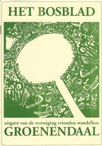 Na 'Groenendaal' is 'Het Bosblad' de nieuwe naam als uitgave van 'Vrienden Wandelbos Groenendaal'. Hier nummer 8 van februari 1993