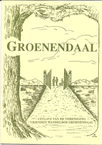 Vooromslag van het blad Groenendaal dat na 1989 verscheen