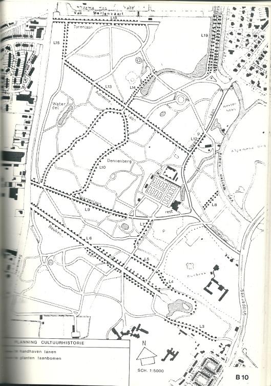 Planning cultuurhistorie Groenendaal uit Beheersplan 1982-1992