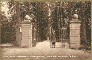 Ingang Torenlaan bij de Herenweg