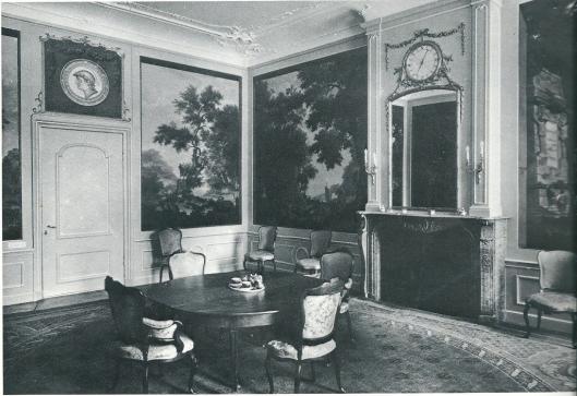Behangelschilderingen van Jurriaen Andriessen (1742-1809) in Huis te Manpad