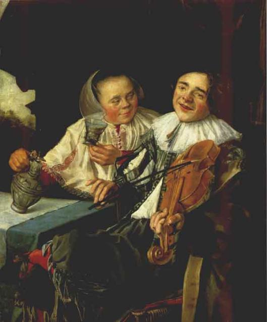 Judith Leyster: vrolijk paar (1630)