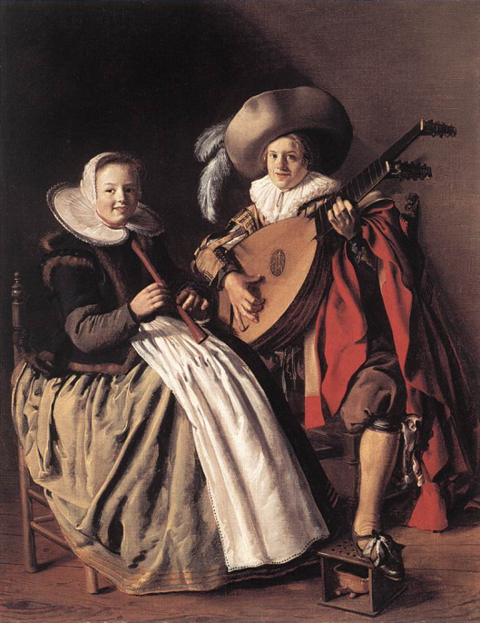 Jan Miense Molenaer: het duet (Art Museum Seattle)