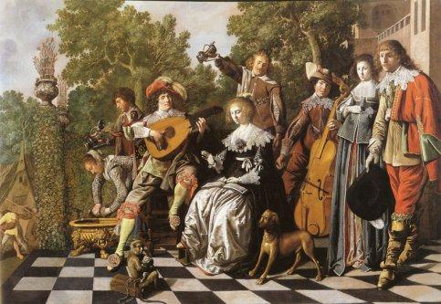 Jan Miense Molenaer: allegorie op de trouw