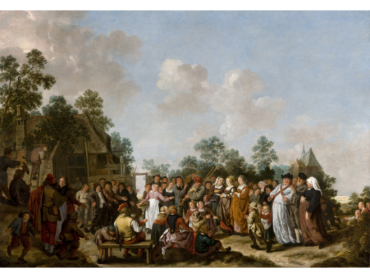 Jan Miense Molenaer: boerenbruiloft (Frans Halsmuseum)