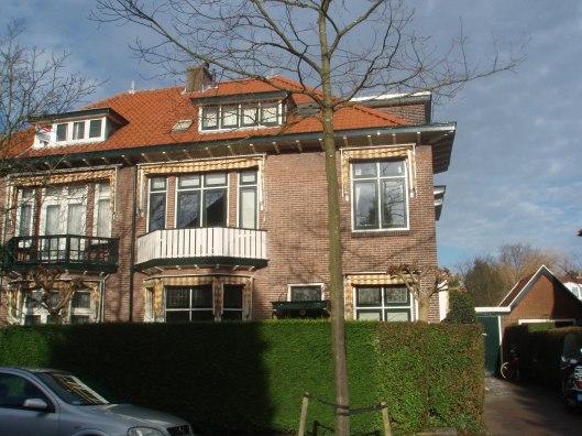 Het huis de Meermin in Heemstede waar Hella Haasse als 7-jarig kind in 1924 bij haar grootouders woonde