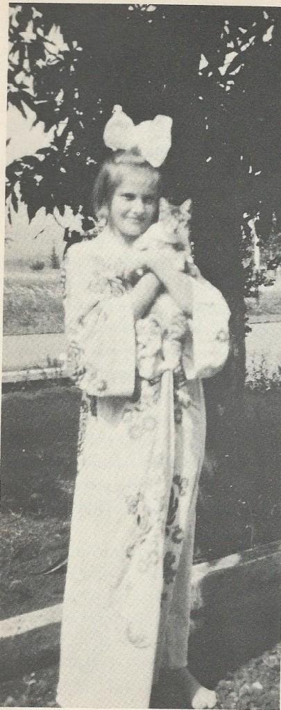 Hella Haasse op 12-jarige leeftijd