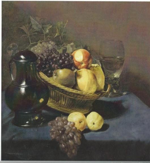 Judith Leyster: Stilleven met fruitmand. Circa 1640. Frans Hals Museum Haarlem, bruikleen van de collectie Kremer