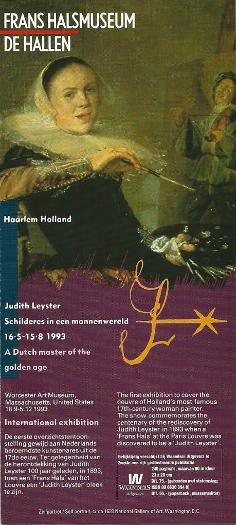 Folder n.a.v. tentoonstelling Judith Leyster in Haarlem (1993)