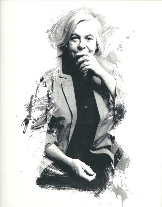 Fotoportret van Hella Haasse door Geert Kooiman. Uit: Schrijversgezichten. CPNB, 1990.