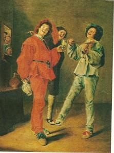 Judith Leyster: drie zingende jongens (collectie P.L.Galjart)