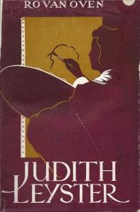 Vooromslag van de roman 'Judith Leyster' door Ro van Oven
