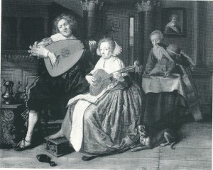 Jan Miense Molenaer: musicaal duet (London, National Gallery)