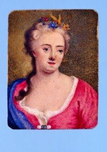 Zelfportret van Maria Machteld van Sypesteyn