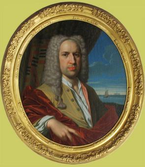 Mr. Cornelis Ascanius van Sypesteyn IV, geportretteerd door Frans Decker (1684-1751)