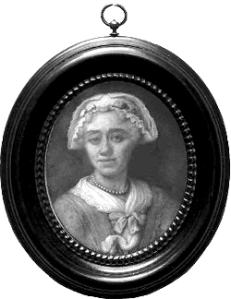Zelfportret van Henriëtte Wolters-van Pee