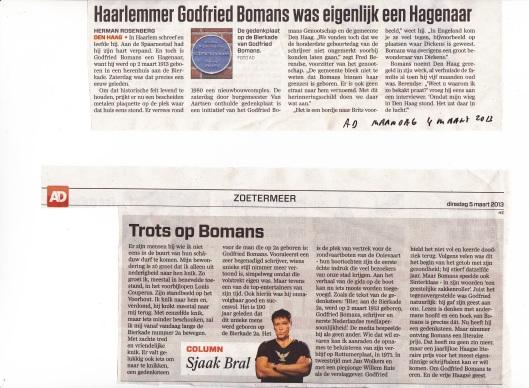 Berichten uit het Algemeen Dagblad