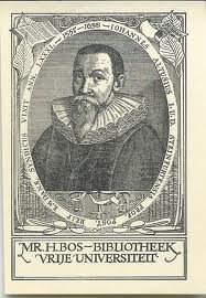 Ex libris mr. H.Bos bibliotheek in Vrije Universiteit Amsterdam