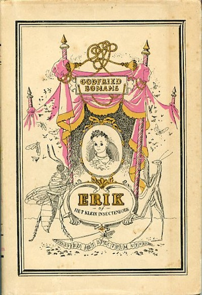Vooromslag van het boek Erik, een boekuitgave van Het Spectrum