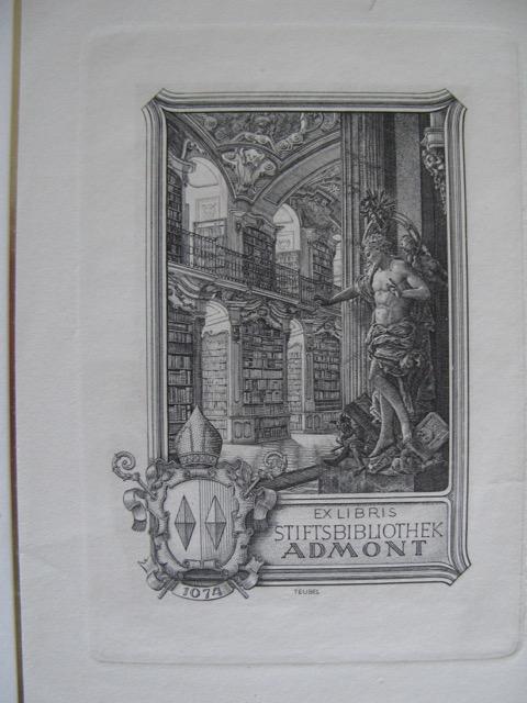 Exlibris Stiftsbibliothek Admont