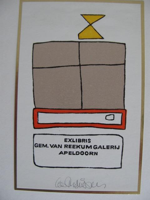 Exlibris Van Reekum Galerij Apeldoorn