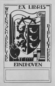 Exlibris wetenschappelijke bibliotheek Eindhoven