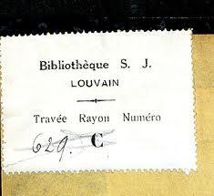 Bibliothèque S.J. Louvain