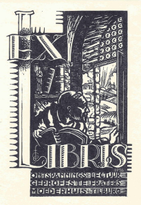Ex libris Fraterhuis Reusel