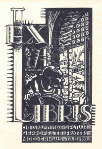 Ex libris ontspanningslectuur Fraters Tilburg