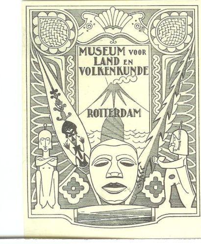 Ex libris Museum voor Lan en Volkenkunde Rotterdam