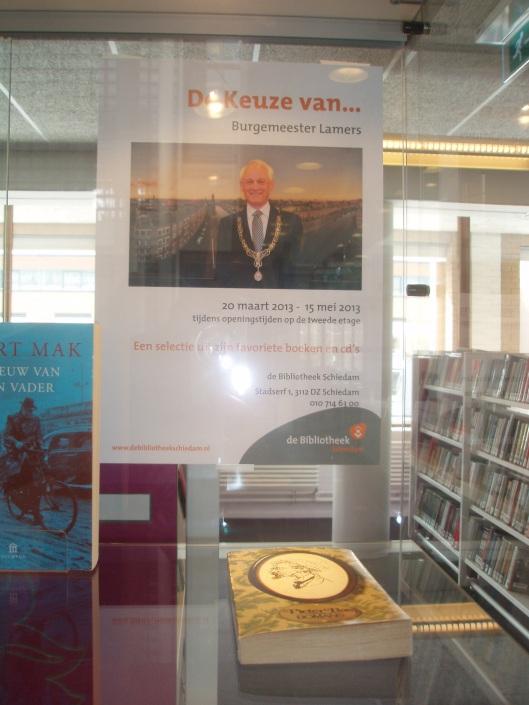 'Pieter Bas', o.a. keuze van burgemeester C. Lamers van Schiedam