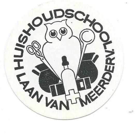 Ex libris Huishoudschool Laan van Meerdervoort Den Haag