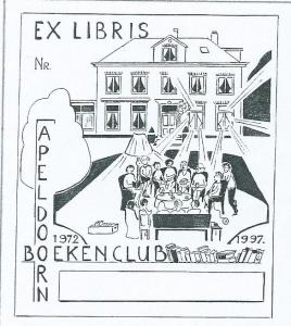Ex libris Boekenclub Apeldoorn 1972 1997