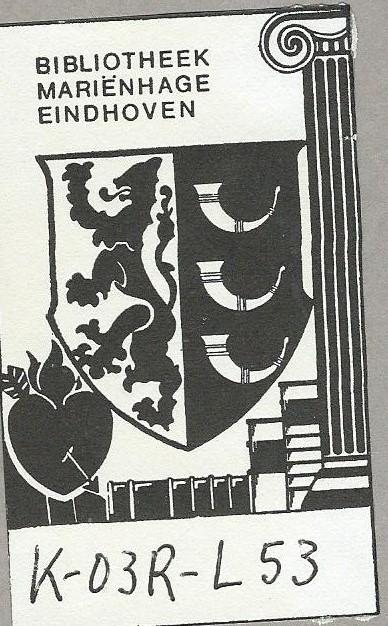 Ex libris van klooster Mariënhage (Augustijnen) in Eindhoven