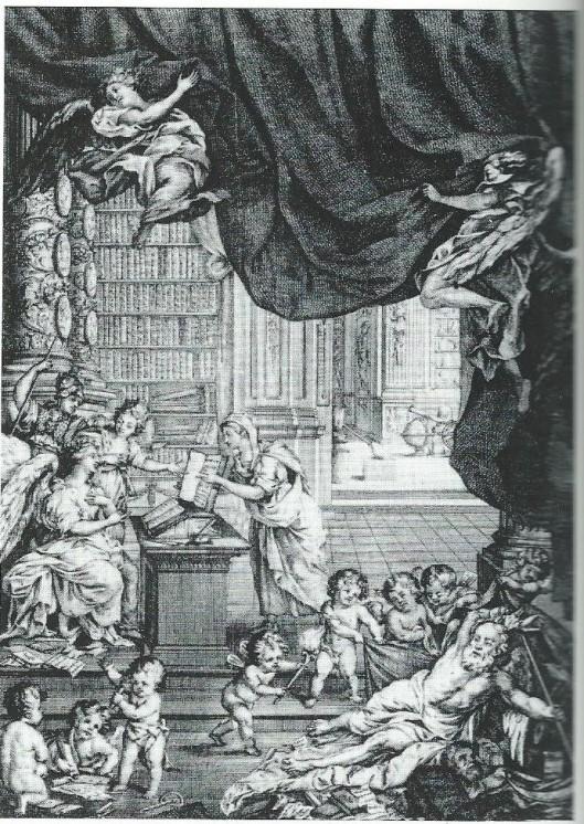Bibliotheek van het Brits Museum, in 1753 opgericht en in 1759 geopend met de bibliotheekcollectie van wetenschapper Hans Sloane.