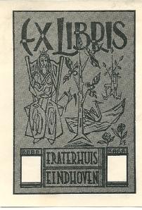 Ex libris Fraterhuis Eindhoven