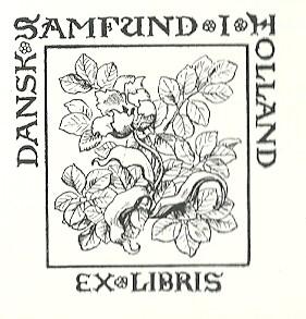 Exlibris van de Bibliotheca Danica en van de overige Deense en IJslandse werken aanwezig in de Universiteitsbibliotheek van Amsterdam