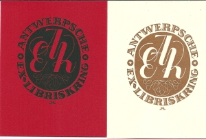 Exlibris van Antwerpsche Exlibriskring