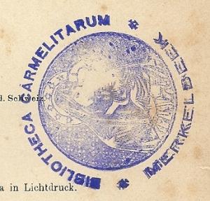 Eigendomsstempel Karmelietenklooster in Merkelbeek
