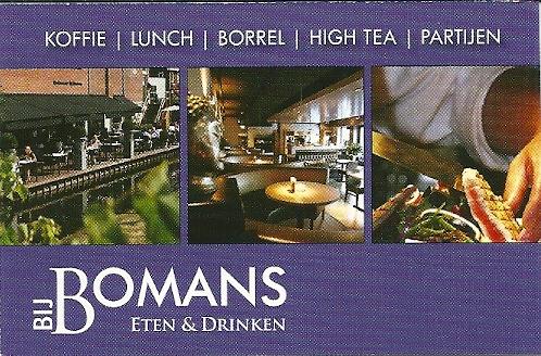 Dichter bij huis: sinds 1984 bestaat in Heemstede een Godfried Bomanslaan. Eten en drinken kan men in het restaurant 'Bij Bomans' nabij de IJzeren Brug, Binnenweg 1-b (souterrain)