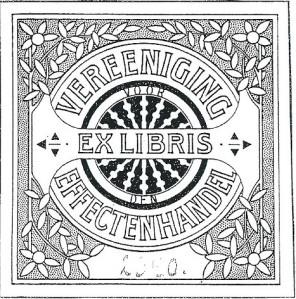 Exlibris Vereeniging  Effectenhandel