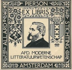 Allard Pierson Stichting, afdeling Moderne Literatuurwetenschap