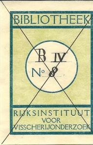 Bibliotheek van Rijksinstituut voor Visscherijonderzoek