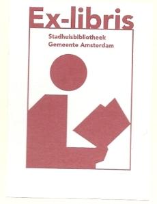 Iden exlibris Stadhuisbibliotheek gemeente Amsterdam