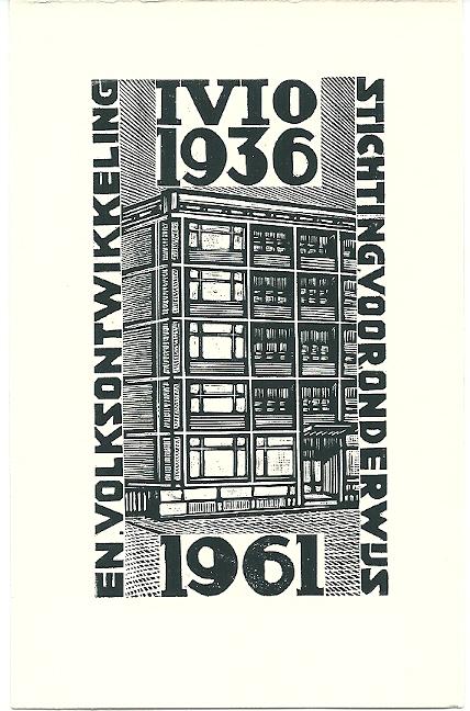 Stichting voor Onderwijs en Volksontwikkeling. 1961