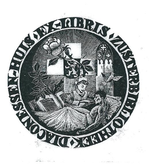 Exlibris Diaconessenhuis - Zusterhuis