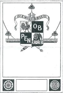 Exlibris Provinciaal Electriciteitsbedrijf Noord-Holland (PEN)